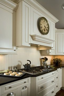 inexpensive backsplash ideas==paint beadboard the same color as the cabinets or an accent color!