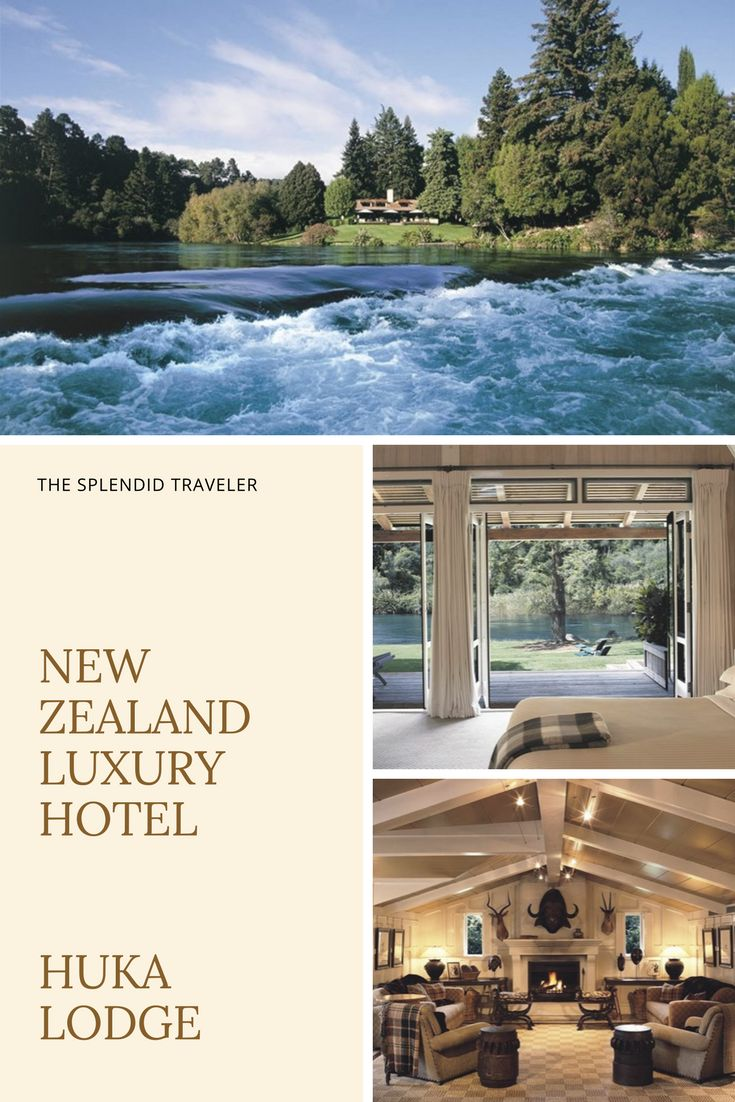 Huka Lodge, in Taupo on New Zealand's North Island, is everything you could possibly imagine, and so much more! Most utter its name in hushed tones, lest the secret of one of the last few untouched havens gets out. New Zealand Luxury Lodge | New Zealand Luxury Hotel