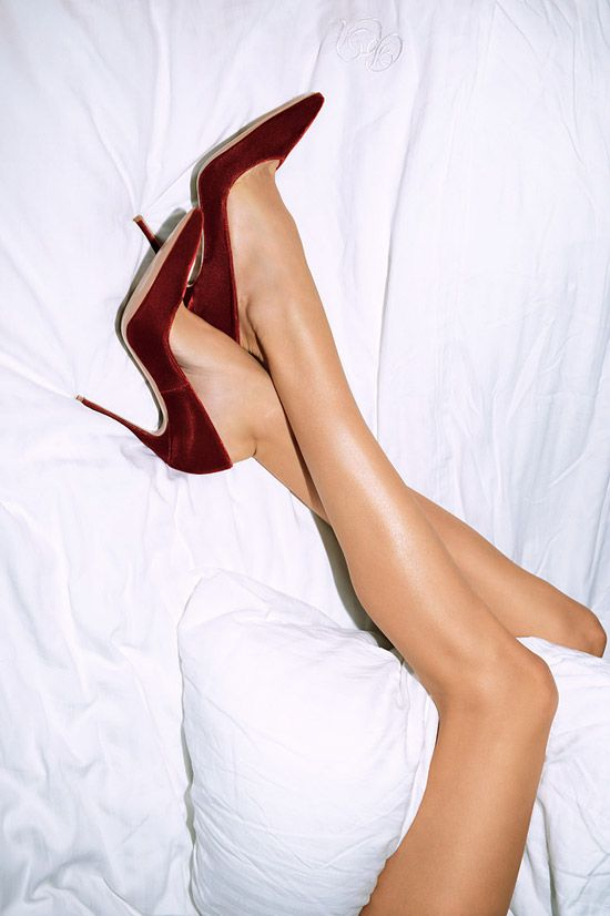 Marsala Wine Color of 2015 / karen cox. #Marsala heels.