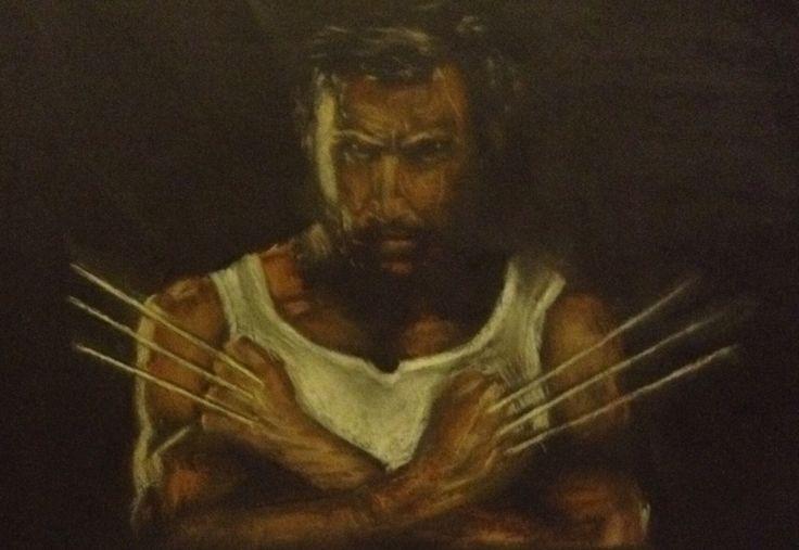 Wolverine - pastels