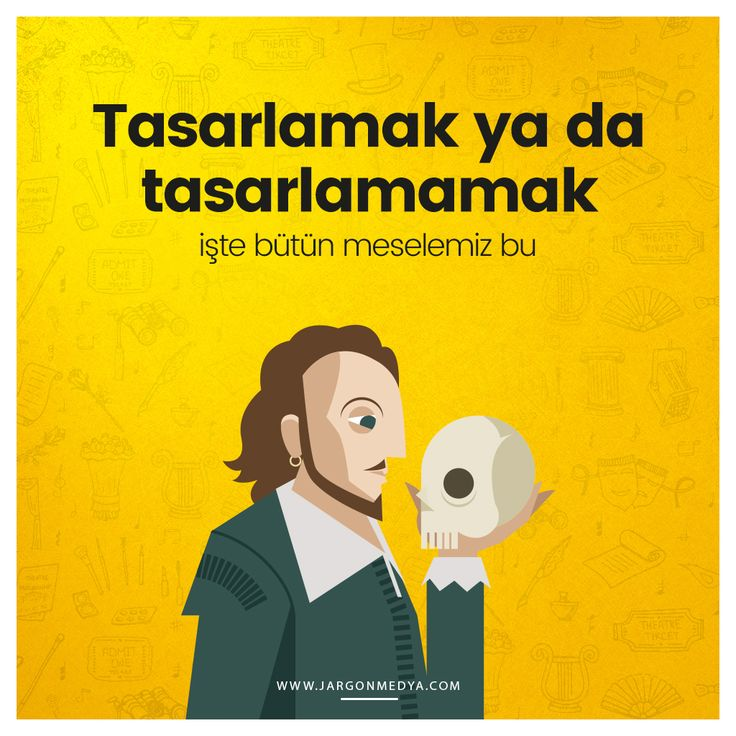 Değerli tiyatro emekçilerimizin #DünyaTiyatroGünü kutlu olsun :) #jargonmedya #creative #agency #27Mart #tiyatro #Hamlet #Shakespeare #ankara #turkiye #turkey
