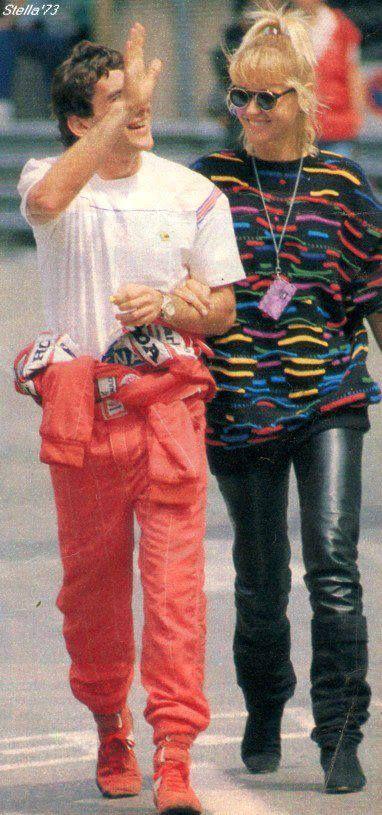 Ayrton Senna and Xuxa