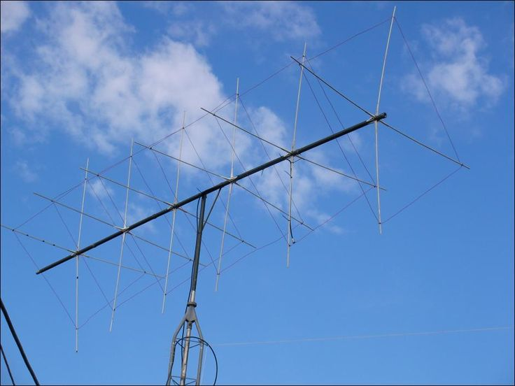 Homemade 6m Cubical Quad Antenna Ham Radio Pinterest
