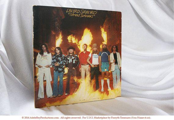 "#LynyrdSkynyrd ""Street Survivors"" ORIGINAL Flame Cover! 33RPM #Music @Etsy http://etsy.me/1AD98cY"