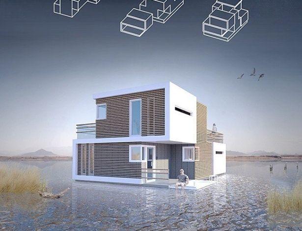Arquiteto inventa casa que se parte em 2 em caso de divórcio dos donos