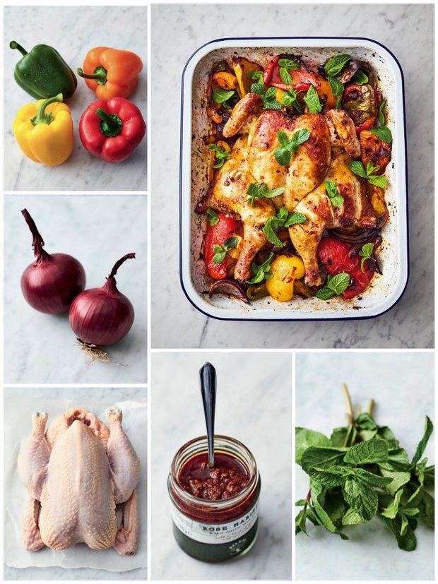 Kuře na harisśe , Foto: Jamie Oliver / 5 ingrediencí