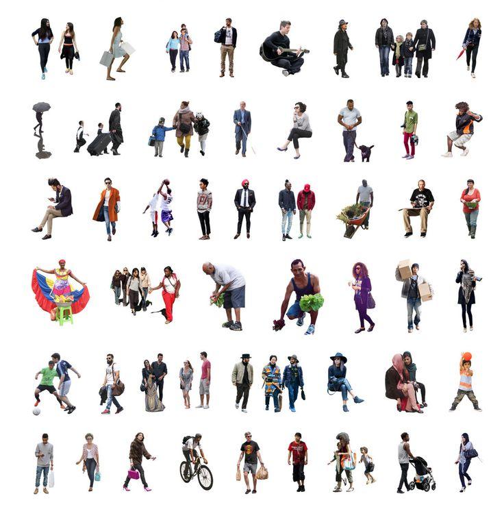 Galeria - 5 sites para baixar escalas humanas de diferentes etnias - 5