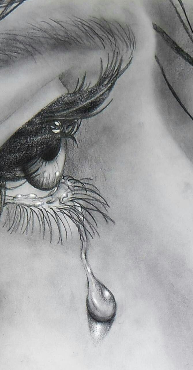 Pin De Orianna Mejias En Dibujos De Chicas Ojos Llorando Dibujo