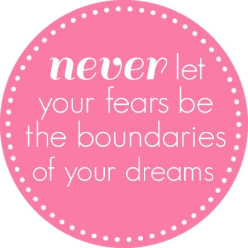 33 best dream big images on pinterest inspiring quotes never let your fear quotes truth fandeluxe Choice Image