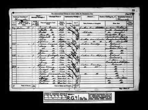 Birth1858 - Thornaby, Yorkshire, England FatherJames Langan MotherMarcy Langan NameThomas Langan Residence1861 - Thornaby, Yorkshire, England SiblingMarcy