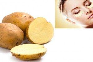 TU SALUD Y BIENESTAR : Patatas contra las arrugas y las ojeras de los ojo...