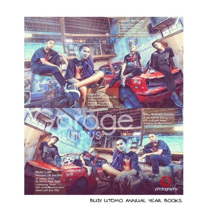 Budi Utomo's Yearbook, Jombang-Indonesia