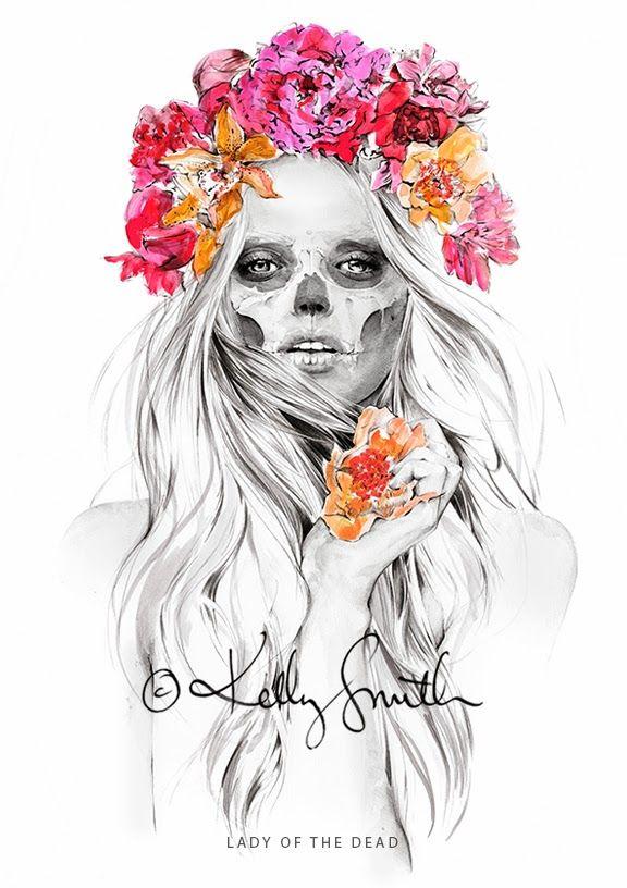 lady of the DEAD / flora GONDWANA