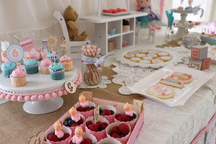 Vintage Doll Birthday Party via Kara's Party Ideas KarasPartyIdeas.com (32)