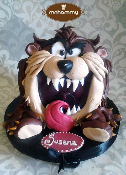 #Taz #Cake Looking fabulous! We love and had to share! Great #CakeDecorating!