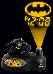 Batman Projection Alarm Clock (Image courtesy What on Earth) a alarm wake me up for the biggest fight school