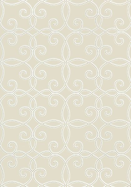 Kendall #wallpaper in #neutral from the Geometric Resource 2 collection. #Thibaut