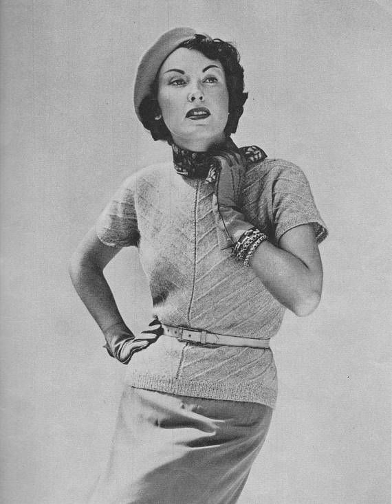 1950s Bia-Knit Sweater
