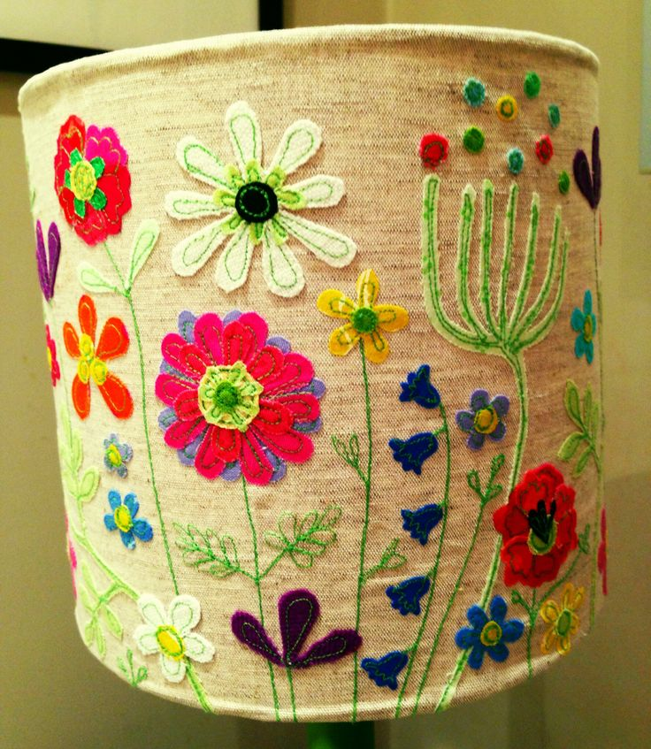 Lamp shade, made by lucy levenson