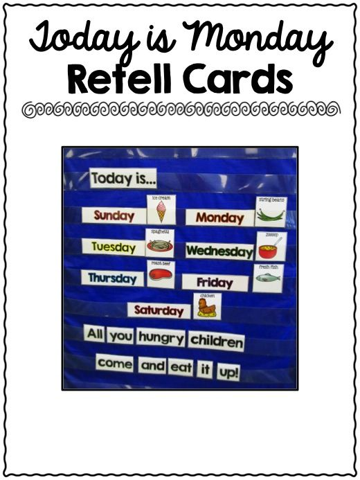Activities for Today is Monday 300+ pages of crafts, printables, ELA activities and Math Activities to learn about the author Eric Carle {perfect for an Eric Carle author study in Kindergarten!}