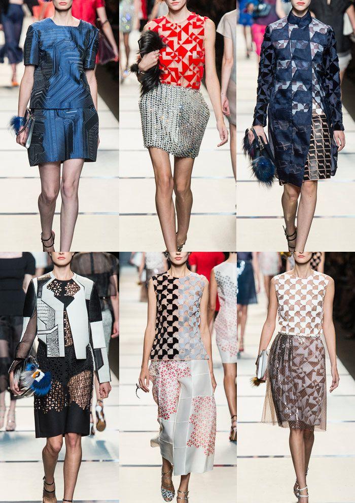 Fendi Milan Fashion Week   Spring/Summer 2014   Print Highlights   Part 2