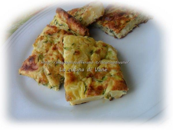 Frittata al forno di ricotta e verdure