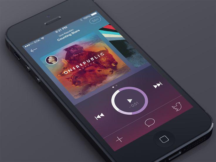 Music Player UI - Graphicfull