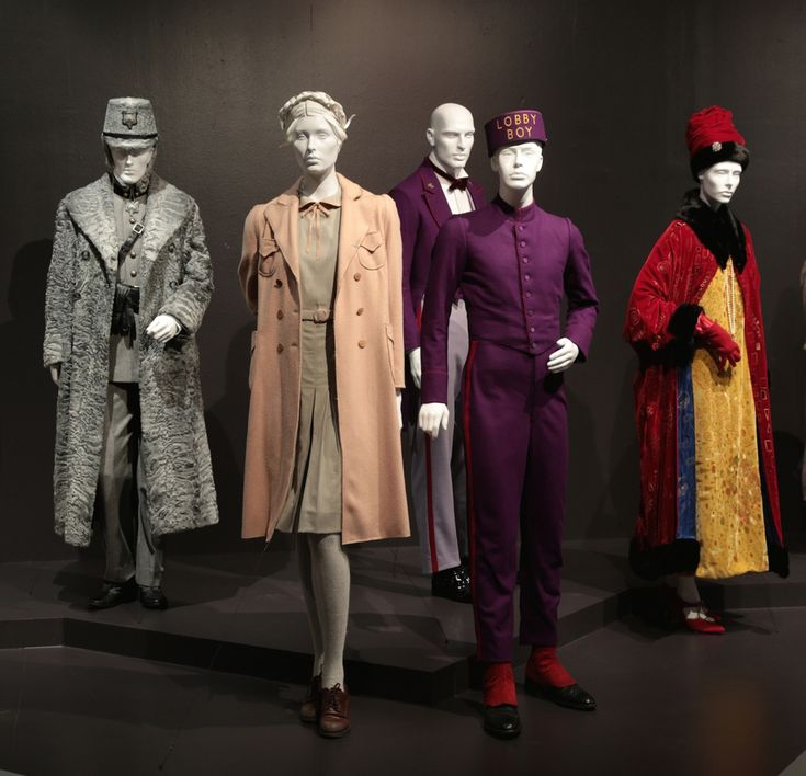 """""""The Grand Budapest Hotel"""" costumes by Costume Designer, Milena Canonero.  23rd Annual Art of Motion Picture Costume Design at the FIDM Museum - Tyranny of Style"""