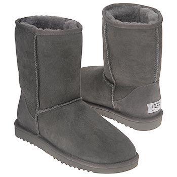 Women's UGG Classic Short Grey Shoes.com
