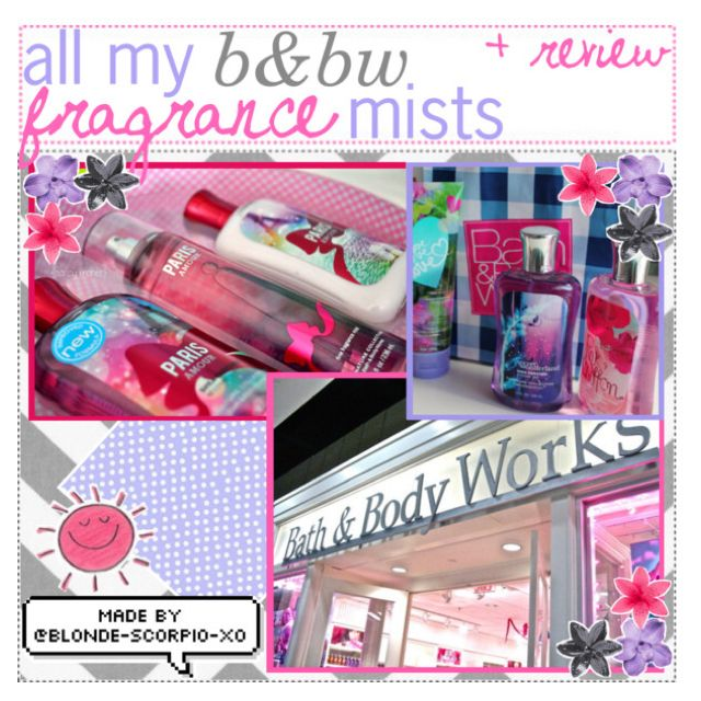 all my b&bw fragrance mists +review by the-tip-shoppe
