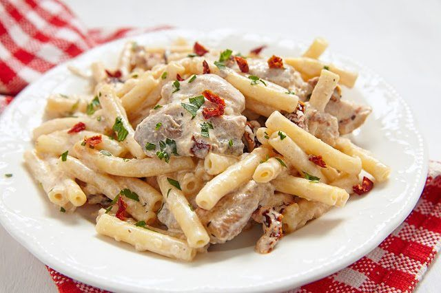 Crock Pot Creamy Italian Chicken - The Country Cook