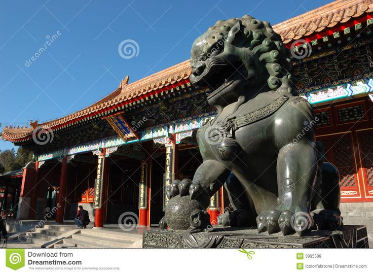Download Lion Statue Stock Photography via CartoonDealer. Statue Copper Lion Gate Summer Palace Beijing China. Zoom into our collection of high-resolution cartoons, stock photos and vector illustrations. Image:3895508