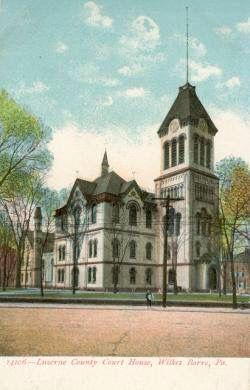 An old Luzerne County Courthouse