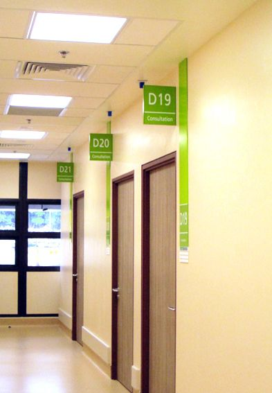 National University Hospital Signage System on Behance