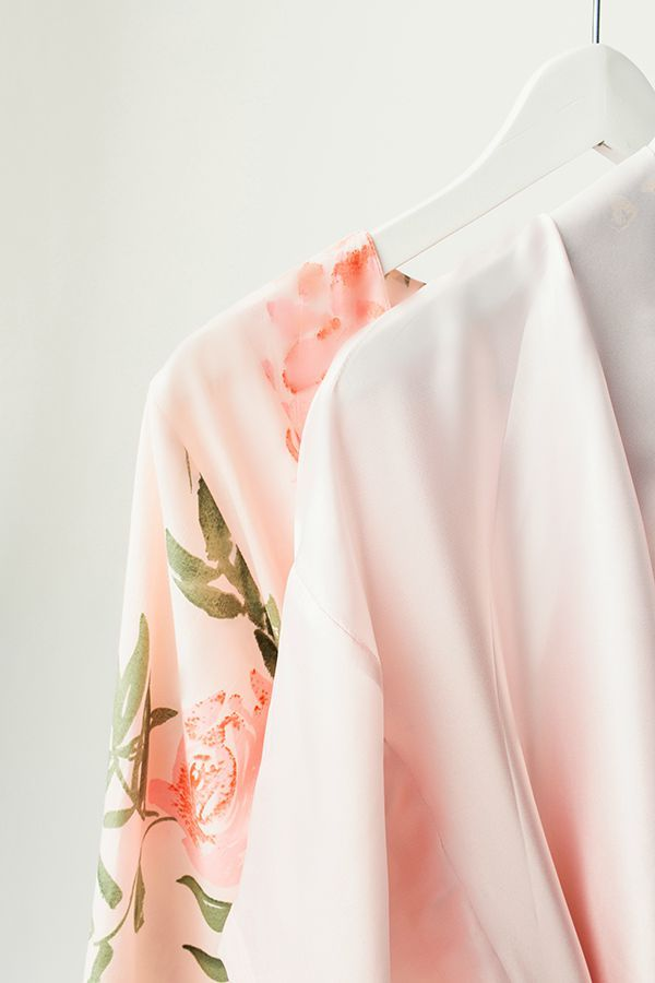 Beauties in silk blush ombre and soft cotton voile. Do you have a Plum Pretty Sugar robe hanging in your wardrobe? www.PlumPrettySugar.com