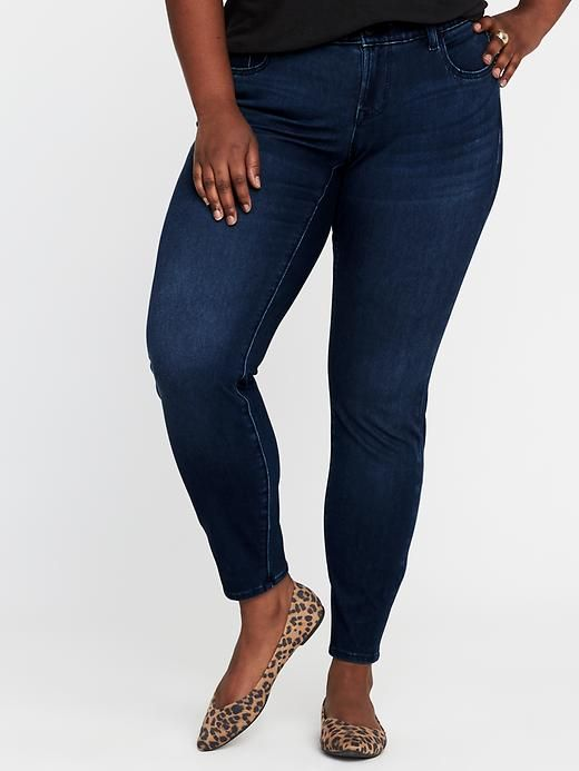 753ac57f145dfa High-Rise Secret-Slim Pockets Waistband Plus-Size Rockstar 24/7 Jeans