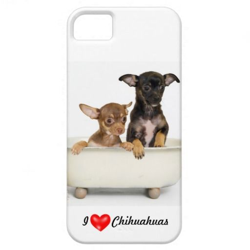 iPhone 5 Cases I LOVE Chihuhuas