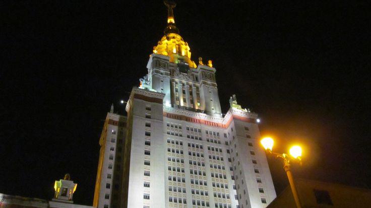Moscow, una delle sette sorelle....una meraviglia!