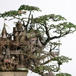 .: Houses 1, Treehouse Sculpture, Trees Houses, Tree Houses, Bonsai Treehouse Now, Book, Treehouses