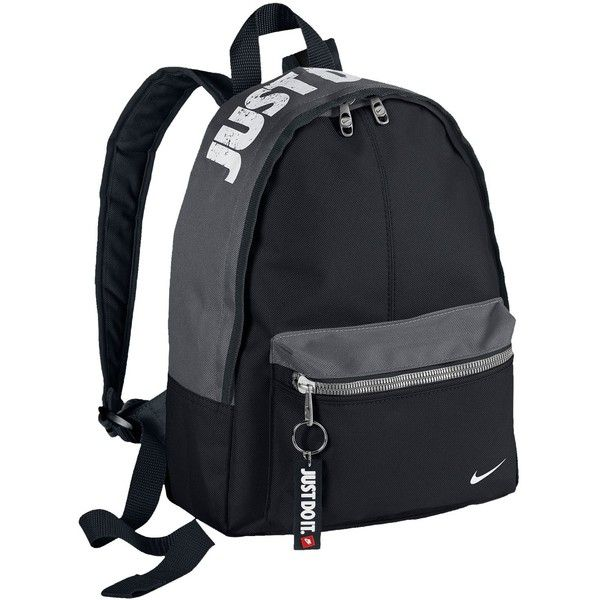 Nike Young Athletes Classic Backpack - Casual - Accessories -... ($20) ❤ liked on Polyvore featuring bags, backpacks, white rucksack, nike bags, nike backpacks, day pack backpack and nike
