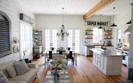 Trendy farmhouse living room decor joanna gaines ship lap 34+ ideas