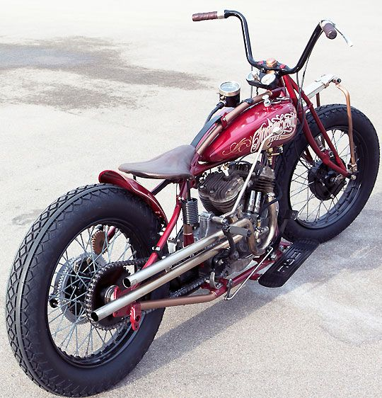 Indian Scout customized                                                                                                                                                                                 Más