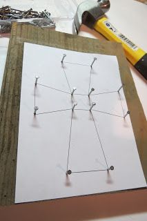 Dippity Dot: String Art Cross