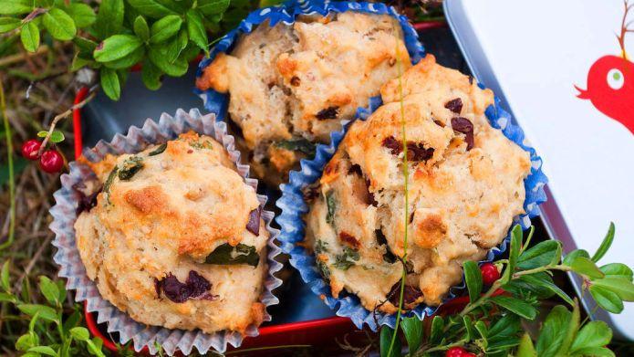 Grove muffins med mat i - Vektklubb
