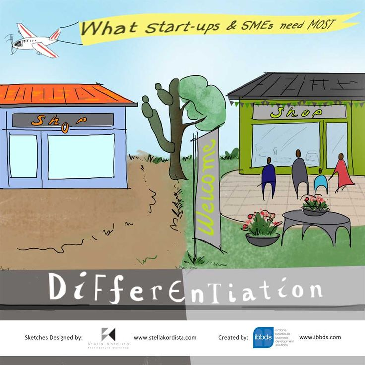 What Start-Ups & SME's Need Most - Differentiation  #Startups #SME's #Differentiation #Post #Article