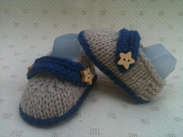 Cute boy booties - loafers.