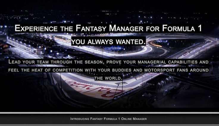 Discover the unique game concept combining simplicity and diversity! Create and guide your own fantasy team through the F1 season 2018, score points and win prize money while feeling the heat of competition with your buddies and motorsport fans worldwide. Prove your managerial skills in this awesome free prediction game.