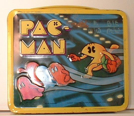 #PACMAN #vintage #lunchbox
