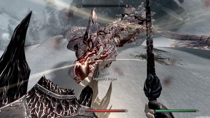 First Legendary dragon kill! #games #Skyrim #elderscrolls #BE3 #gaming #videogames #Concours #NGC