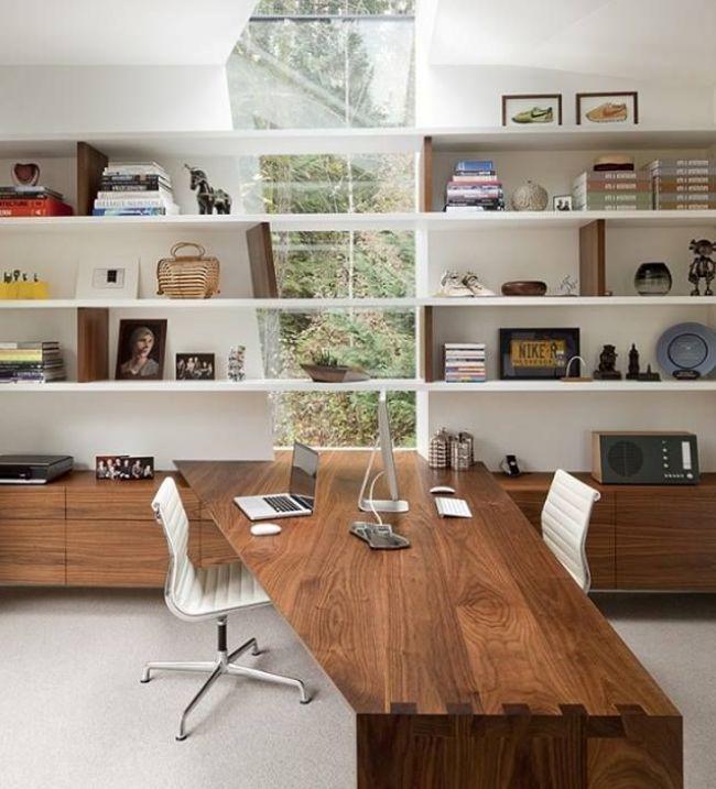 Письменный стол (47 фото): как выбрать хороший стол для работы http://happymodern.ru/pismennyj-stol-44-foto-kak-vybrat-xoroshij-stol-dlya-raboty/ Угловой стол с надстройкой - функциональное хранение канцелярских принадлежностей